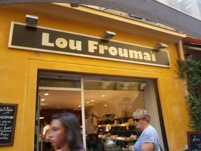 "La plus grande Fromagerie de Nice.""Froumai pour Fromage"". photo: sinatou saka"
