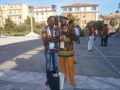 En compagnie de Fidèle Anato au Théâtre Nationale de Nice